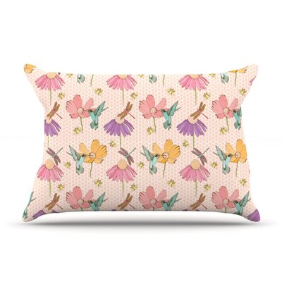 Magic Garden by Laura Escalante Featherweight Pillow Sham Size: King, Fabric: Woven Polyester