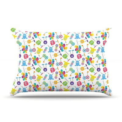 Fun Creatures by Laura Escalante Featherweight Pillow Sham Size: King, Fabric: Woven Polyester