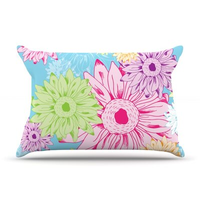 Summer Time by Laura Escalante Featherweight Pillow Sham Size: King, Fabric: Woven Polyester