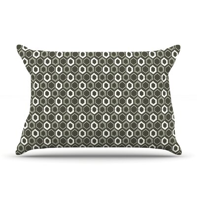 Hexy Pillow Case Size: Standard
