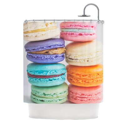 I Love Macaroons Shower Curtain