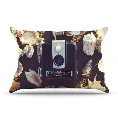 The Four Seasons: Summer by Libertad Leal Featherweight Pillow Sham Size: King, Fabric: Woven Polyester