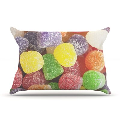 I Want Gum Drops by Libertad Leal Featherweight Pillow Sham Size: King, Fabric: Woven Polyester