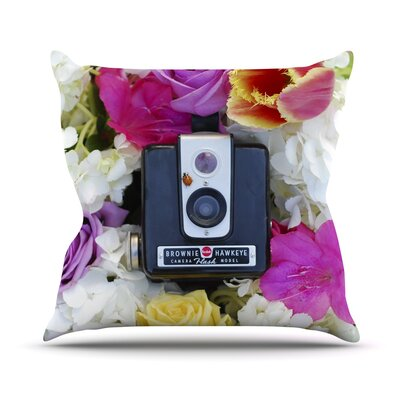 The Four Seasons Spring Throw Pillow Size: 16 H x 16 W