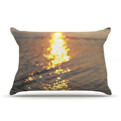 Still Waters by Libertad Leal Featherweight Pillow Sham Size: King, Fabric: Woven Polyester