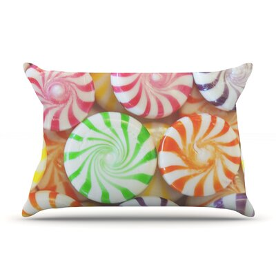 I Want Candy Pillow Case Size: Standard