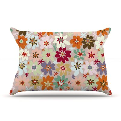 Sophie by Laura Escalante Featherweight Pillow Sham Size: Queen, Fabric: Woven Polyester
