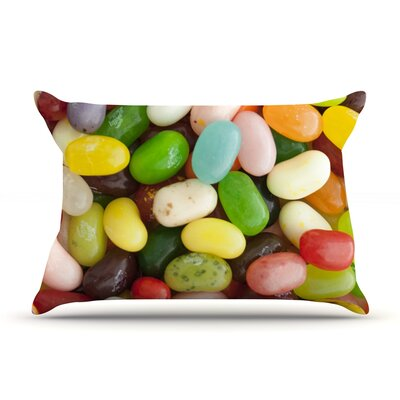 I Want Jelly Beans Pillow Case Size: King