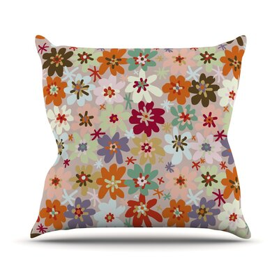 Sophie by Laura Escalante Throw Pillow Size: 18