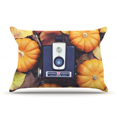 The Four Seasons: Fall by Libertad Leal Featherweight Pillow Sham Size: King, Fabric: Woven Polyester