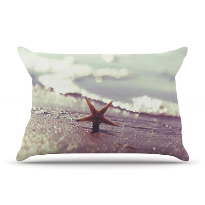 You are a Star by Libertad Leal Featherweight Pillow Sham Size: King, Fabric: Woven Polyester
