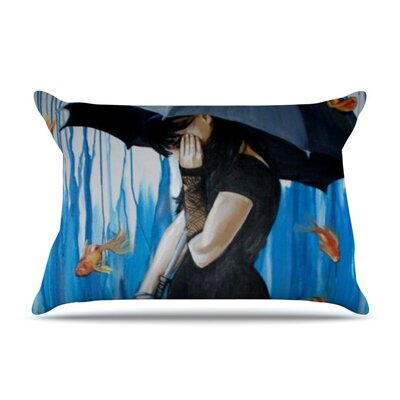 Sink or Swim by Lydia Martin Featherweight Pillow Sham Size: King, Fabric: Woven Polyester