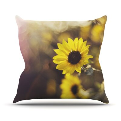 Magic Light Throw Pillow Size: 18 H x 18 W