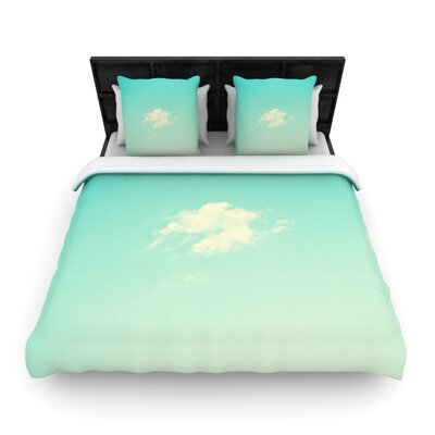 Cloud 9 by Libertad Leal Woven Duvet Cover Size: Twin