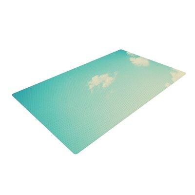 Libertad Leal Cloud 9 Sky Blue Area Rug Rug Size: 4 x 6