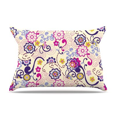 Arabesque by Louise Machado Featherweight Pillow Sham Size: King, Fabric: Woven Polyester
