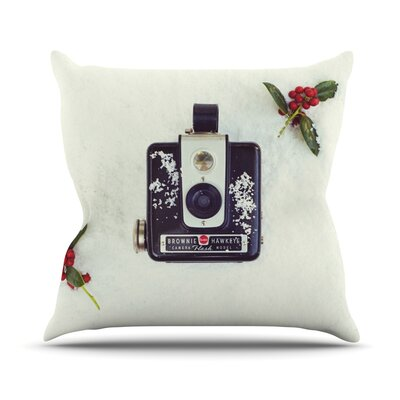 The Four Seasons Winter Throw Pillow Size: 26 H x 26 W