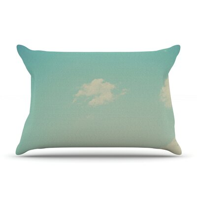 Cloud 9 by Libertad Leal Featherweight Pillow Sham Size: King, Fabric: Woven Polyester