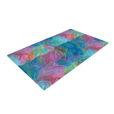 Louise Machado Rabisco Pink/Blue Area Rug Rug Size: 2 x 3