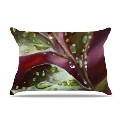 Queen of the Sea by Lydia Martin Featherweight Pillow Sham Size: Queen, Color: Green, Fabric: Woven Polyester