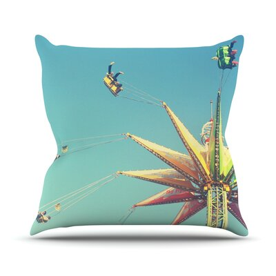 Flying Chairs PThrow Pillow Size: 26 H x 26 W