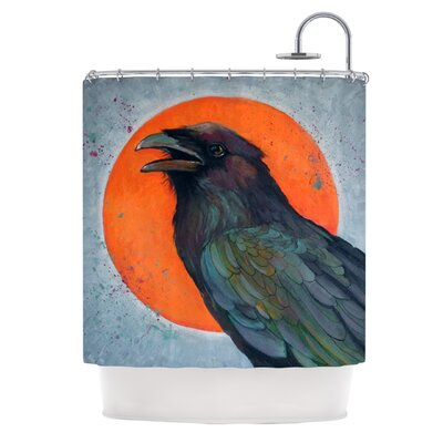 Raven Sun Shower Curtain LM1012ASC01