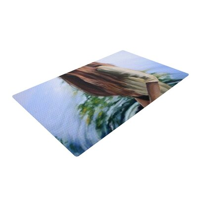 Lydia Martin Knee Deep Blue/Green/Brown Area Rug