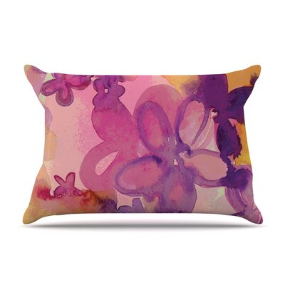 Dissolved Flowers Pillow Case Size: Standard