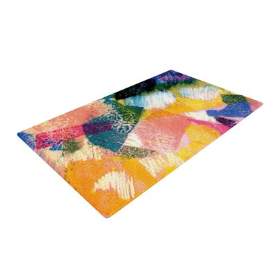 Louise Machado Texture Yellow/Pink Area Rug Rug Size: 4 x 6