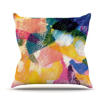 Texture Throw Pillow Size: 18 H x 18 W
