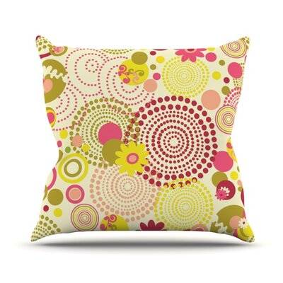 Poa Throw Pillow Size: 16 H x 16 W