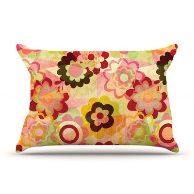 Colorful Mix Pillow Case Size: King