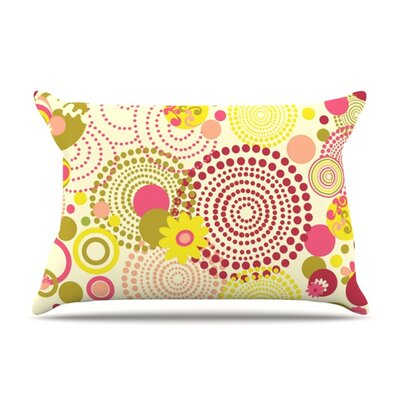 Poa by Louise Machado Featherweight Pillow Sham Size: King, Fabric: Woven Polyester