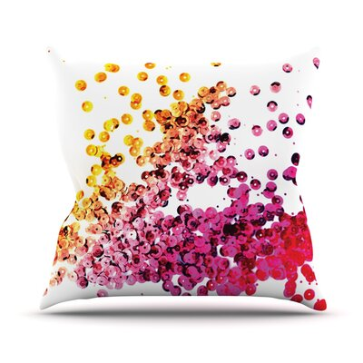 Throw Pillow Color: Balance Purple, Size: 18 H x 18 W