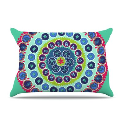 Surkhandarya by Laura Nicholson Featherweight Pillow Sham Size: Queen, Fabric: Woven Polyester