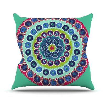 Surkhandarya Throw Pillow Size: 18 H x 18 W