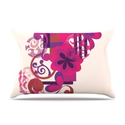 Lilac by Louise Machado Featherweight Pillow Sham Size: King, Fabric: Woven Polyester