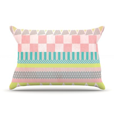 Luna by Louise Machado Featherweight Pillow Sham Size: King, Fabric: Woven Polyester