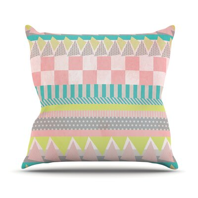 Luna Throw Pillow Size: 26 H x 26 W