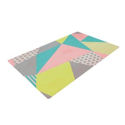 Louise Machado Geometric Pastel Area Rug Rug Size: 2 x 3