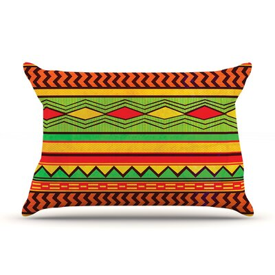 Egyptian by Louise Machado Featherweight Pillow Sham Size: Queen, Fabric: Woven Polyester