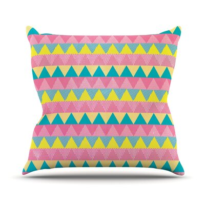 Louise Machado Throw Pillow Size: 20 H x 20 W x 4 D