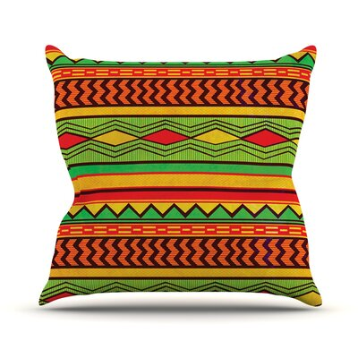Egyptian Throw Pillow Size: 18 H x 18 W