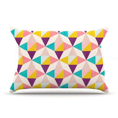 Amethyst by Louise Machado Featherweight Pillow Sham Size: King, Fabric: Woven Polyester