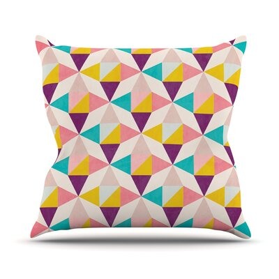 Amethyst by Louise Machado Throw Pillow Size: 20 H x 20 W x 4 D