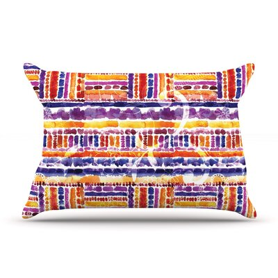 Tribal by Louise Machado Featherweight Pillow Sham Size: Queen, Fabric: Woven Polyester