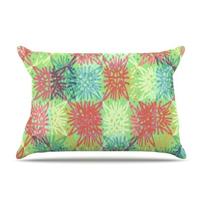 Multi Lacy by Laura Nicholson Featherweight Pillow Sham Size: King, Fabric: Woven Polyester