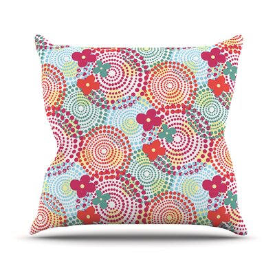 Balls Throw Pillow Size: 18 H x 18 W