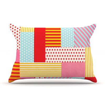 Geometric Pop by Louise Machado Featherweight Pillow Sham Size: King, Fabric: Woven Polyester