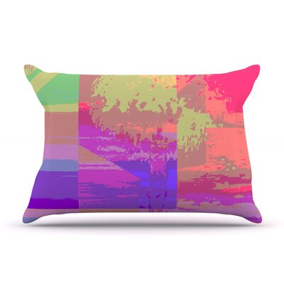 Impermiate Poster by Nina May Featherweight Pillow Sham Size: King, Fabric: Woven Polyester